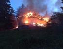 Colliano: Date alle fiamme due abitazioni montane. Di origine dolosa gli incendi