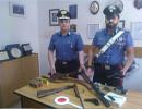 Marina di Camerota: Sequestrate armi e munizioni. Denunciato 73enne del posto