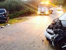 Sala Consilina: Incidente in località Santa Lucia. Ferite due persone