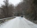 Sacco: nevica sulla Sella del Corticato. Interrotti i collegamenti con il Vallo di Diano