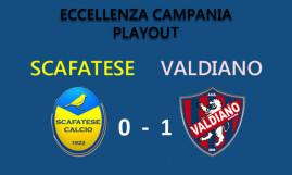 Calcio: il Valdiano compie l'impresa. Nei play out espugna il campo della Scafatese e resta in Eccellenza