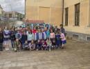"""Atena Lucana: il """"Bibliomotocarro"""" accolto dagli alunni della scuola elementare"""