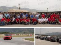 Teggiano: grande partecipazione al Valpista per il 1° raduno di moto ed auto d'epoca su circuito