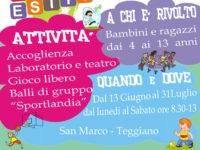 Teggiano: al via Centro estivo 2016 a San Marco. Domani iniziano le iscrizioni