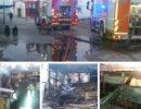 Capaccio: camping in fiamme, paura per i bagnanti. Distrutti i bungalow