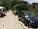 Sassano: scontro frontale tra due auto. Tre le persone ferite