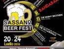 """Dal 20 al 24 luglio al """"Sassano Beer Fest"""" birre internazionali e gastronomia dal mondo"""