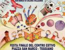 Teggiano: domani festa finale del centro estivo in Piazza San Marco