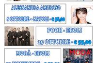 VIAGGI SPERANZA organizza: calendario concerti 2016 – Autobus + Ingresso