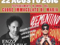 Sassano: Varco Notar Ercole in festa con Enzo Avitabile e Clementino
