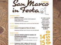 """Teggiano: il 14 agosto al via la ricca tre giorni """"San Marco in festa"""""""