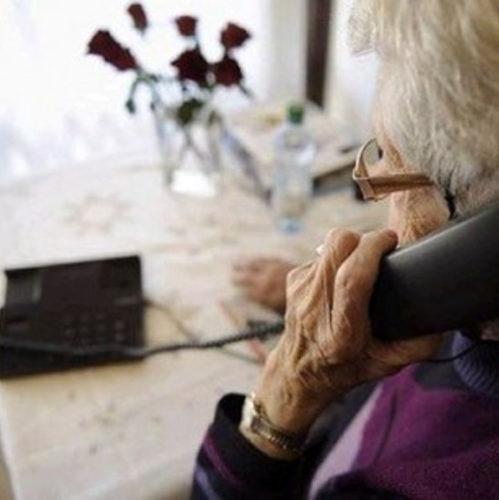 truffa anziana telefono