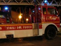 Maltempo. A San Rufo i Vigili del Fuoco sgomberano due famiglie a scopo precauzionale