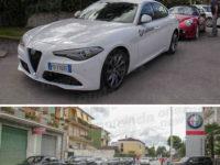 """Ieri la """"Passeggiata in Alfa Romeo"""". Sosta presso la Cosilinauto di Sala Consilina"""