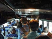 Disagi sul pullman per Fisciano: studenti costretti a viaggiare in piedi