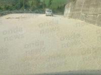 Violento temporale allaga la SP94 a Vietri di Potenza. Traffico in tilt
