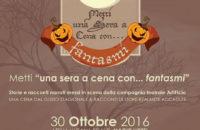"""30 ottobre – al MAGIC HOTEL Metti """"una sera a cena con…fantasmi"""""""