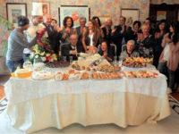 """""""La Vita in diretta"""" a Teggiano per i 70 anni di matrimonio di Carmine ed Annunziata"""