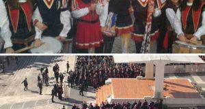 Sbandieratori e Tamburine di Teggiano a Roma per l'Udienza Giubilare di Papa Francesco