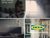 Cristina Cappelli, attrice di Sala Consilina, protagonista del nuovo spot IKEA