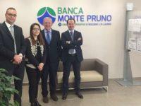 Banca Monte Pruno. La sede di Potenza compie due anni