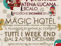 """Dal 2 al 18 dicembre, al Magic Hotel di Atena Lucana, torna il """"Mercatino di Natale"""""""