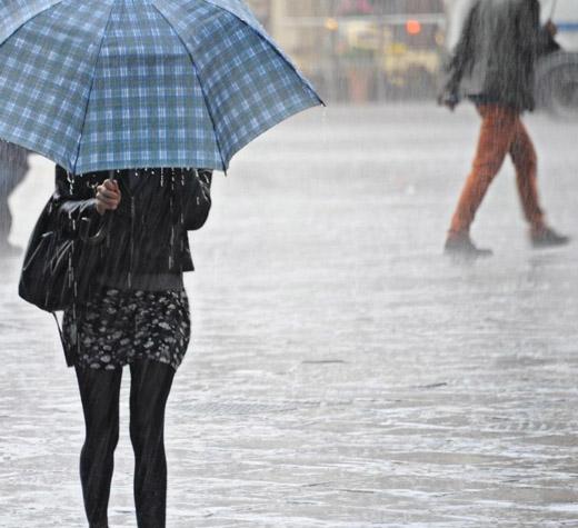 Ancora maltempo in Campania: allerta meteo arancione dalle 18 di oggi