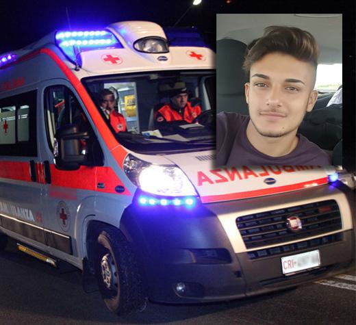 Umberto Mirarchi, figlio del vicesindaco ci Albanella, muore in un incidente