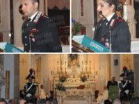 """Teggiano: celebrata la """"Virgo Fidelis"""", patrona dell'Arma dei Carabinieri"""
