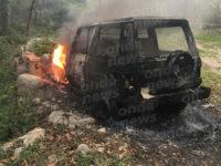 Atto intimidatorio nella Valle del Sele. Incendiata l'auto di un imprenditore di Valva