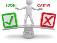 """""""Buoni e cattivi"""" del 2016 del Vallo di Diano. Resoconto dell'anno che sta per finire"""