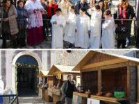 """Teggiano: taglio del nastro per """"La Corte in Festa: Natale al Castello"""""""