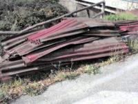 Teggiano: rifiuti speciali abbandonati nella frazione San Marco