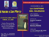 """Teggiano: il 5 gennaio conversazione sul libro """"La custode del silenzio"""" di Paolo Rodari"""