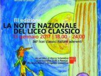 """Sala Consilina: il 13 gennaio al """"Cicerone"""" la Notte Nazionale del Liceo Classico"""