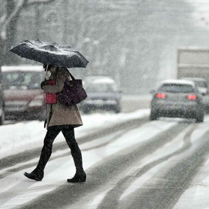 Neve in Campania, l'allerta meteo della Protezione Civile