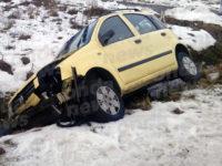"""Auto finisce fuori strada lungo la """"Teggiano-Polla"""". Ferita 22enne teggianese"""