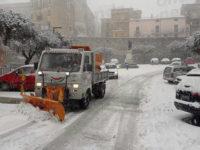 Arrivano le prime abbondanti nevicate nel Vallo di Diano e nel Tanagro