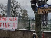 Terminata la protesta degli operai all'acquedotto di Caggiano