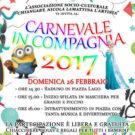 """Caggiano: il 26 febbraio appuntamento con """"Carnevale in compagnia"""""""
