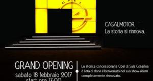 Sala Consilina: il 18 febbraio Opel Casalmotor inaugura lo showroom completamente rinnovato