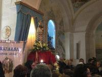 Centinaia di fedeli per l'arrivo dell'effigie della Madonna di Loreto a Vietri di Potenza