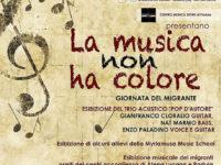 """Atena Lucana: il 26 febbraio suoni e integrazione a """"La musica non ha colore – Giornata del migrante"""""""