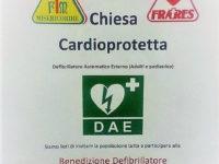Sala Consilina: il 26 febbraio benedizione del defibrillatore presso la chiesa di Sant'Anna