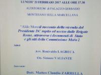 Montesano sulla Marcellana: il 20 febbraio incontro sul caso Moro con l'on. Gero Grassi
