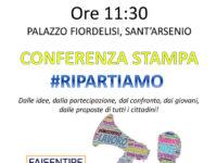 Sant'Arsenio: domani il lancio della campagna #RIPARTIAMO dei Giovani Democratici