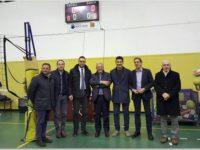 Potenza: la Banca Monte Pruno dona un tabellone elettronico per la Palestra Caizzo