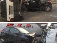 Incidente stradale a Sala Consilina sulla SP 49. Ferite due persone