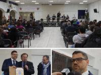 Teggiano:il Rettore dell'Università di Salerno Tommasetti incontra gli studenti del Pomponio Leto