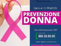 """""""Prevenzione donna"""": dal 6 al 12 marzo visite gratuite a Sala e Sant'Arsenio"""